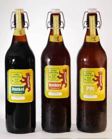 Hausgebraute Biere